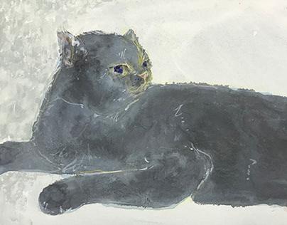 「cat」(ねこ) 2019 sm