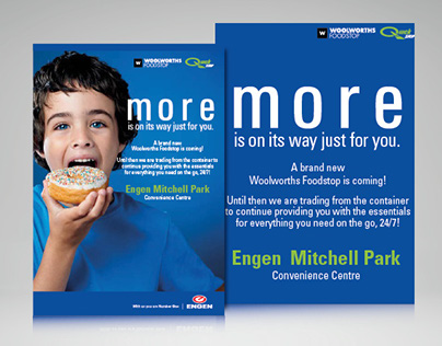 Engen QuickShop Flyers