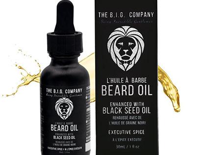 Custom Printed Beard Oil Boxes In Packaging Business.