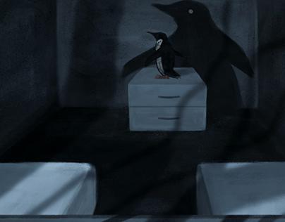 The Forgotten Penguin / Digital painting