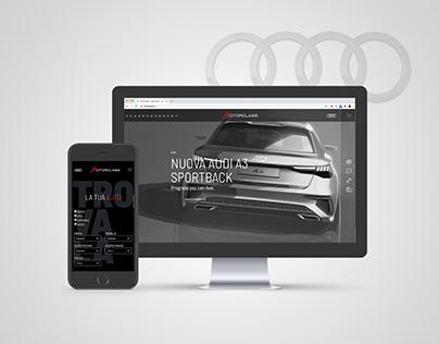 AUDI | Motorclass website