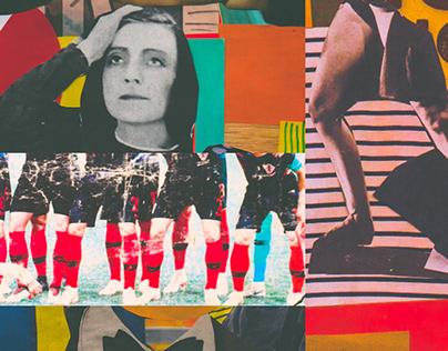 Sensory overload // Analog Collage Fragments
