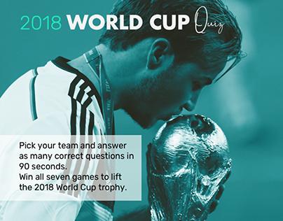 World Cup 2018 interactive quiz, AJE