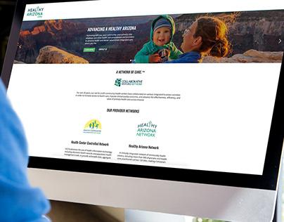 Healthy Arizona | Branding and Website