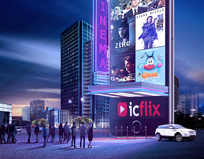 Icflix - Billboard Advertising