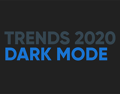 App design trends for 2020