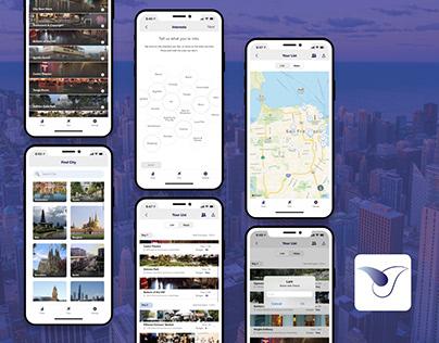 Lark - Traveling app