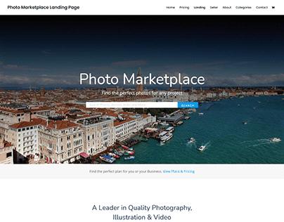 Photo Market Website