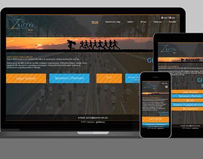 Strona internetowa / Website – Zorro-RUN