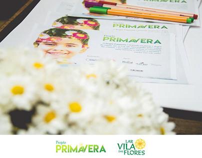 Projeto Primavera // Conceito criativo & Redação