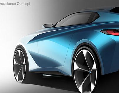 BMW Vision Driving Assistance Concept