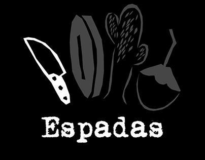 Tarô Nordestino - Spades [minor arcana]