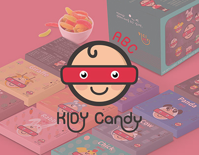 KIDY · Candy Brand & Package Design