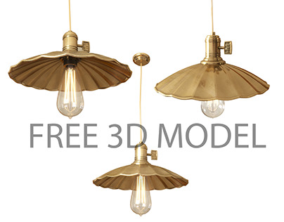3D MODEL FREE - Hudson Valley Lighting Heirloom