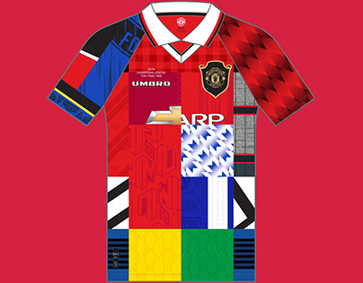 Manchester United Kit History, from 1878 to present
