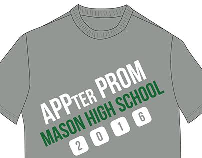 APPter Prom T-Shirt Design Proposal