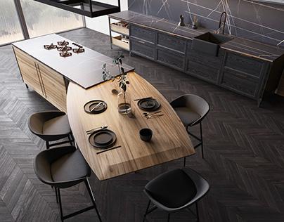 SHADE kitchen by ELIO HOME