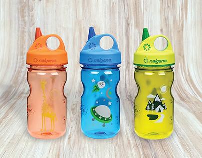 Graphics for Nalgene Water Bottles