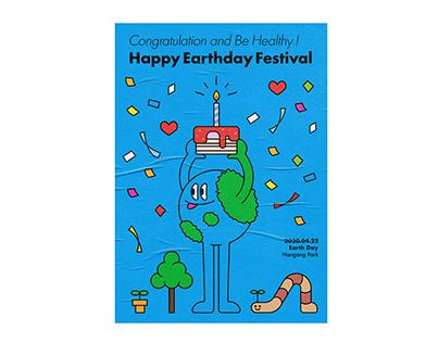 HAPPY EARTHDAY FESTIVAL