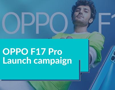 OPPO F17 Pro launch campaign