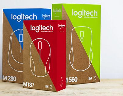 Logitech Packaging concept