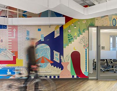 PayPal Mural