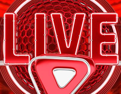 Selo Live Free #LIVE