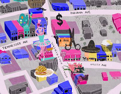 Elk City Map