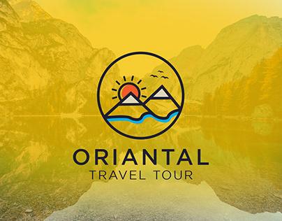 Oriantal Travel Logo Branding