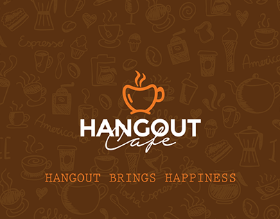 Brand Identity Design - Hangout Cafe
