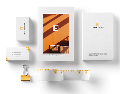 Laura Home: logo designs and branding