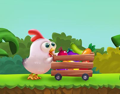 Veggies Farm /Match3 Game