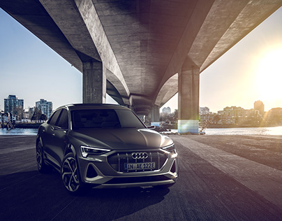 Audi e-tron Sportback - CGI & Retouching