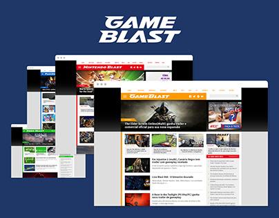 GameBlast UX/UI and Identity Design