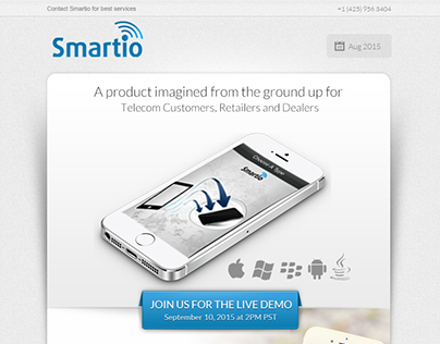 SmartIo Email Marketing  Design