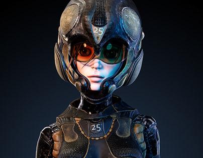Speedy Pilot - Game Character