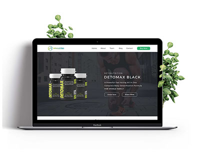 Detomax - Body Detoxification Website and Research