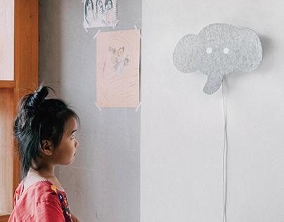 Felt Wall Lamp