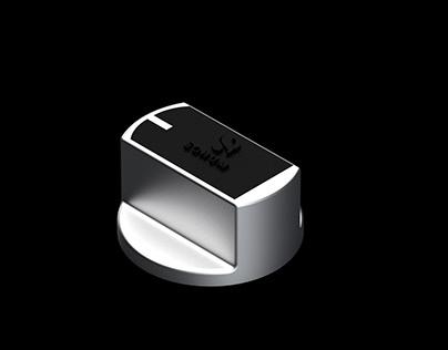 Aluminum Knob design For FFD Gastove