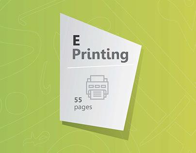 مشاريع أعمال الطباعة