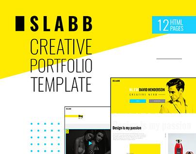 Slabb — Creative Portfolio HTML5 Template