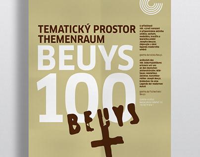 Poster Design – Beuys 100 | Goethe Institute Prague