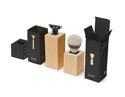 Shaving Set Packaging