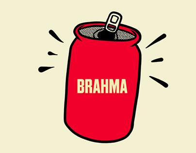 Ilustrações - Comida de Estádio - BRAHMA