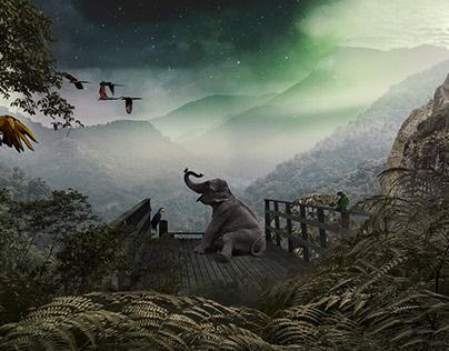Vista - A Surreal Photo Manipulation
