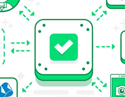 Illustrations for Visto App Homepage