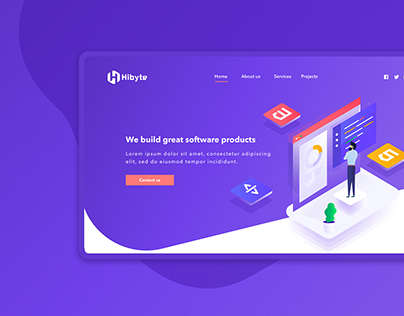 Hibyte - Website