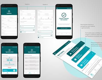 Projeto UX/UI - APP S.O.S PS