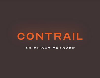 Contrail AR flight tracker