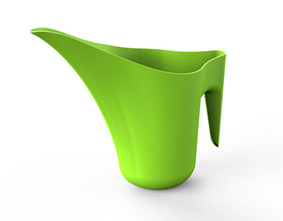 Formplastic watering can